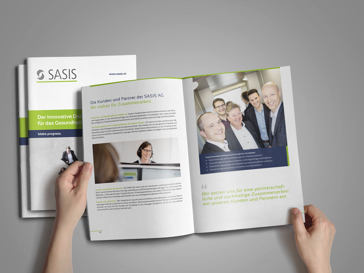 SASIS AG - Der innovative Datenlogistiker